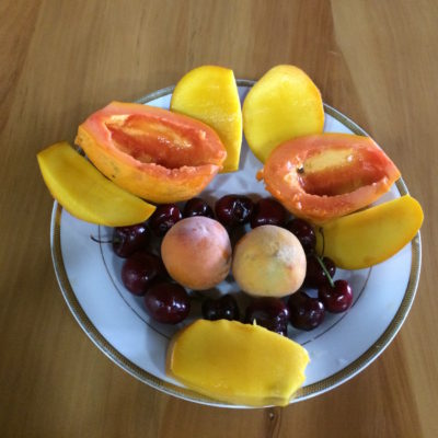 21 Dec Dinner - Fruits
